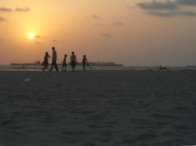 Пляж Таркали на закате