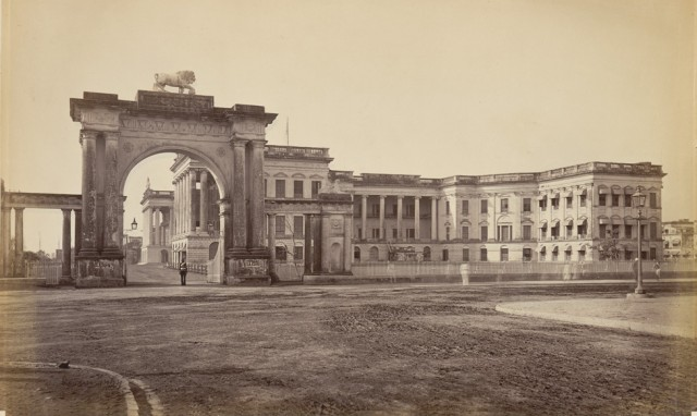 GOVERNMENT HOUSE - RAJ BHAVAN - 1865