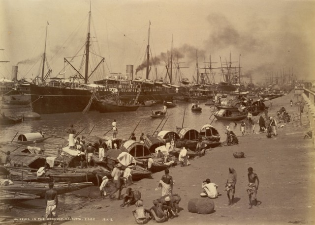 HOOGHLY RIVERFRONT - 1890