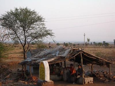 way from Khajuraho