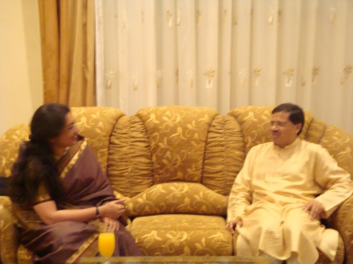 Посол Индии в Азербайджане и Танушри Джи