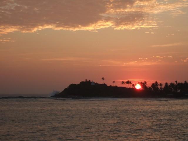 Закат над Унаватуной