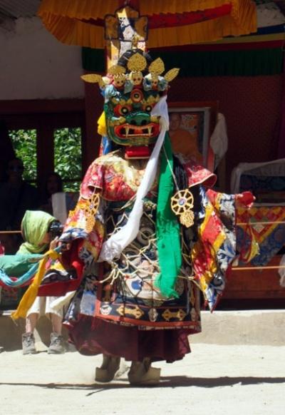 Танец масок Чам (Цам)