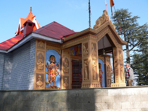 Храм Джакху в Шимле