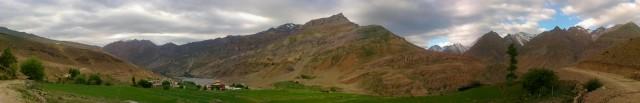 Долина в Районе Kungri gompa
