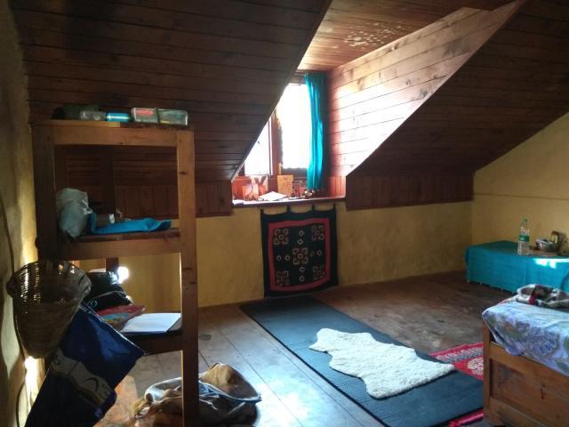 Моя комната в мансарде