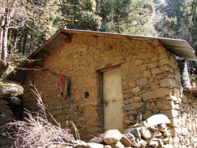 домик монаха-отшельника