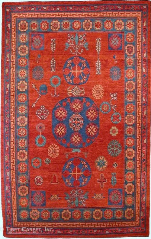 Тибетский ковер