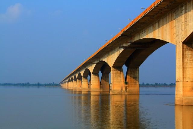 Мост Ганди Сету в Патне