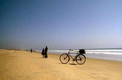 Пляж в Пури
