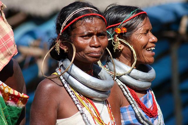 Аборигены на рынке в Онкаделли