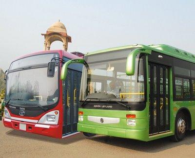Государственные городские автобусы в Дели