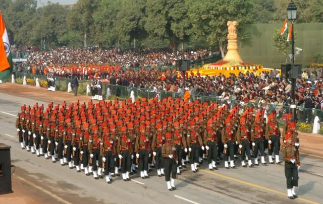 Парад в честь Дня Республики