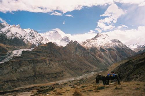 Вид с перевала Паркачик Ла