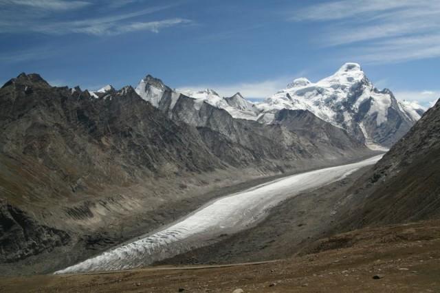 ледник по дороге