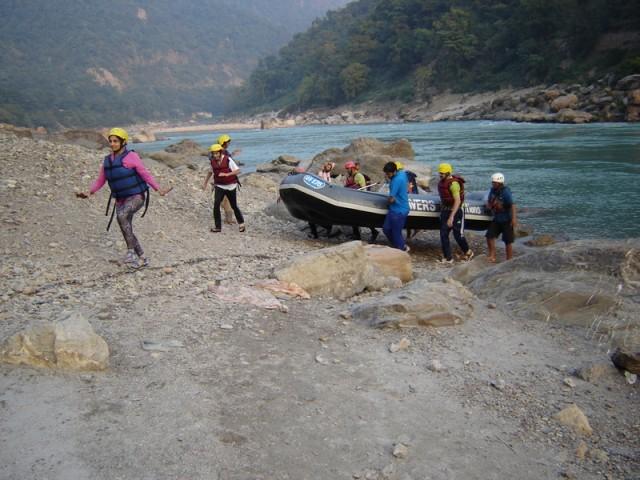 Рафтинг на правом берегу