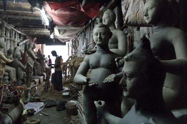 Идоловаятели на Кали-гхате