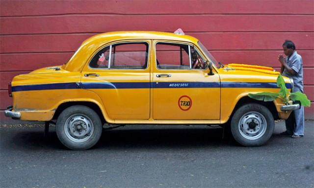 Такси в Калькутте