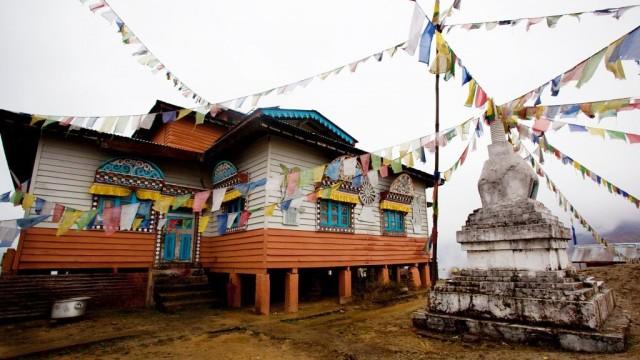 Буддийский монастырь в Мечуке