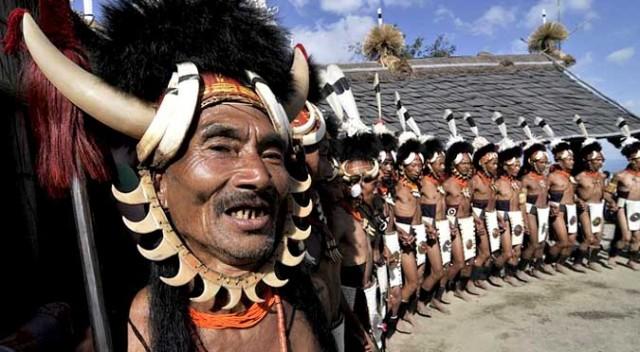 Племя Коньяк. Нагаленд.