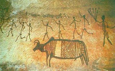 Бхимбетка: Наскальные росписи