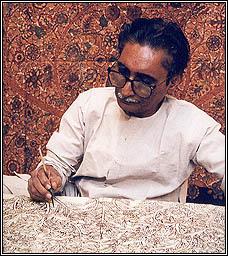 Гуррупа Четти - мастер каламкари из штата Андхра-Прадеш