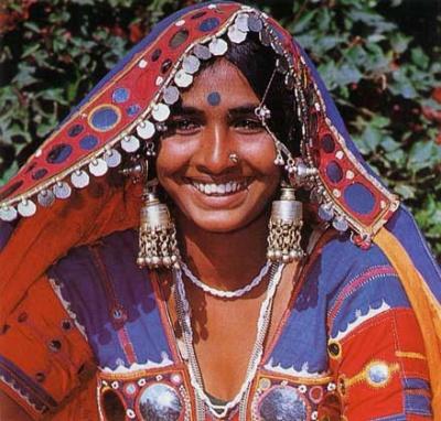 Национальный костюм штата Андхра-Прадеш (Индия)
