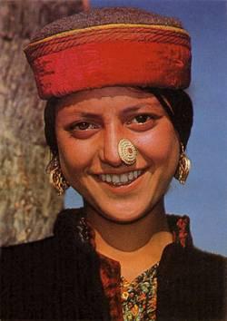 Национальный костюм штата Химачал-Прадеш (Индия)