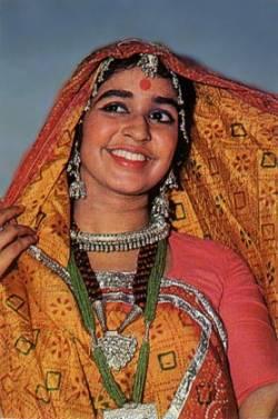 Национальный костюм штата Гуджарат