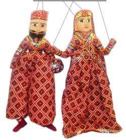 Куклы из Раджастана, Индия