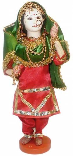 Кукла невесты из Пенджаба, Индия