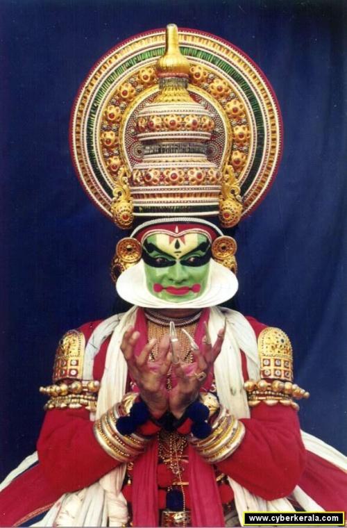 Танец Катхакали: Мудра лотоса
