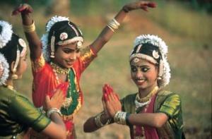 Танцовщицы в Индии