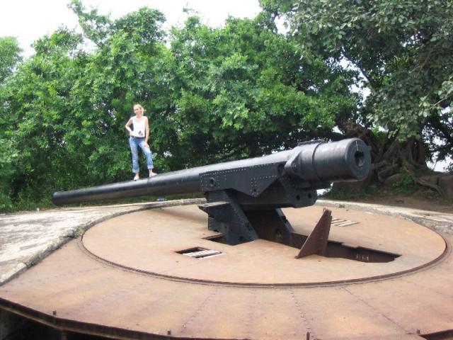 Мумбай: Британская пушка