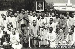 Встреча Раджива Ганди с первыми русскими кришнаитами в Индии