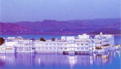 Дворец-отель в Удайпуре