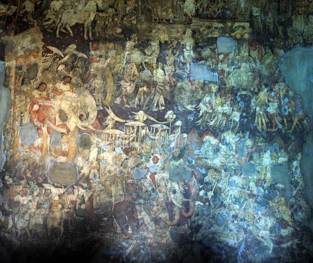 Аджанта. Мастерство художников эпохи Гуптов поражает