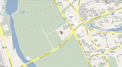 Где в Дели расположен Акшардхам