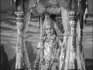 Разгневанный Кришна