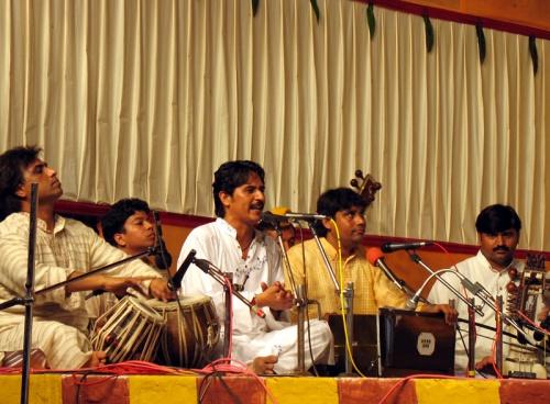 Группа музыкантов из Северной Индии