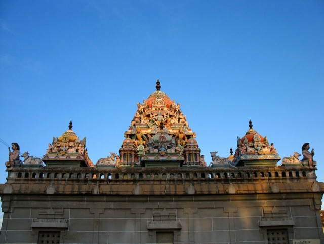 Чидамбарам. Храм Натараджа. Святилище девяти планет