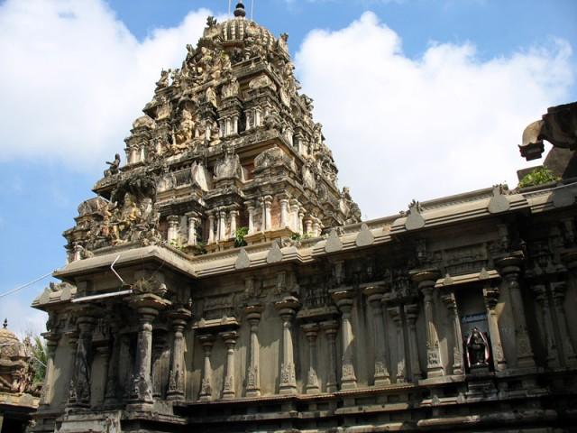 Чидамбарам. Храм Анандешвары (Шивы)