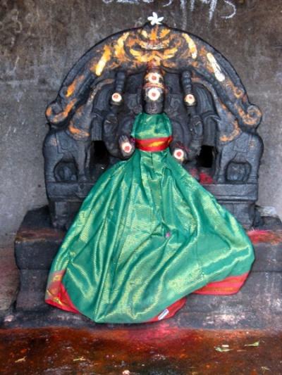 Богиня в храме Анандешвары