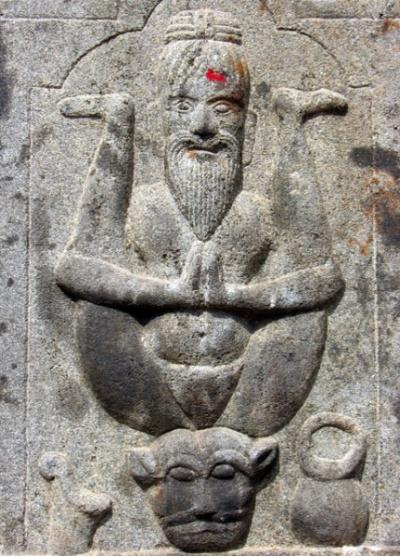 Чидамбарам. Рельефы в храме Анандешвары