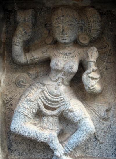 Чидамбарам. В храме Натараджа. Рельефы в храме Шивакамасундари