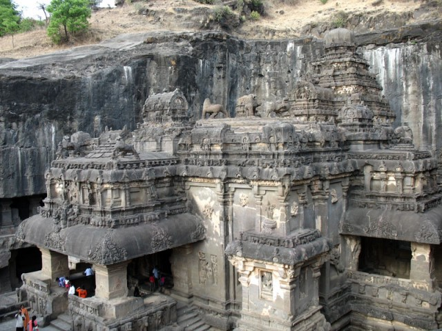 Эллора. Храм Кайлас - главная достопримечательность Эллоры