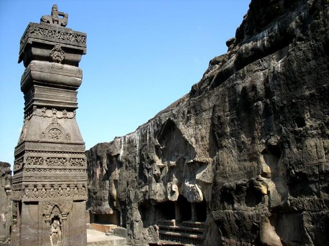 Эллора. Пещерный храм Кайлаш