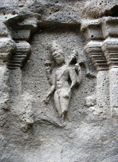 Эллора. Храм Кайлаш. Рельеф