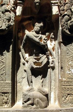 Эллора. Храм Кайлас. Рельеф