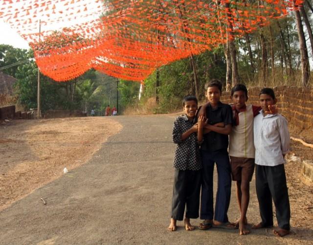 Мальчишки из деревни Арикади